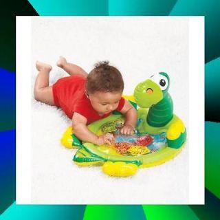 PLAY WOW PAT MAT INFLATABLE DINOSAUR BABY PLAY MATS Green 20 X 10