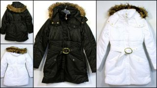 BABY PHAT COAT W/REMOVABLE FAUX FUR TRIM HOOD STYLE 1337BP