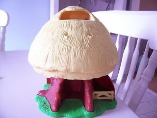 Vintage 1984 Kenner Star Wars Ewok Family Tree House Only