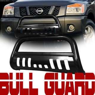 BLACK S/S HD BULL BAR (brush push bumper grill guard) 2002 2005 DODGE