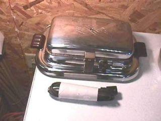 Vintage GE Electric Waffle Maker Iron