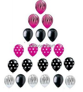 BABY SHOWER BIRTHDAY PARTY balloons supplies decorations polka dot