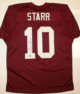 Bart Starr Autographed Alabama Crimson Tide Jersey  TriStar