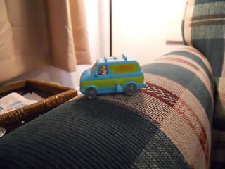 Mystery Machine Wind up Van Toy Scooby Doo Burger King 2000 Vehicle