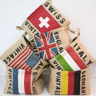 Storage a jute box variety home decoration chic basket maggagin