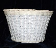 Newly listed White Plastic Bicycle Basket / Kids Bicycle Basket
