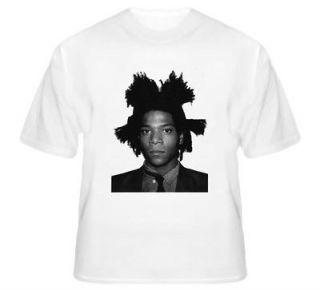 New Jean Michel Basquiat graffiti artist T Shirt