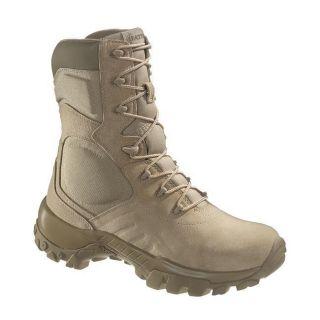 MENS BATES DELTA 9 TAN BOOTS (us military army tactical combat swat)