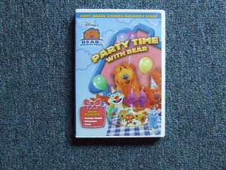 Bear in the Big Blue House   Party Time With Bear (DVD, 04) In Case