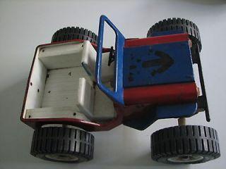 VINTAGE OLD Tonka Red Jeep Dune Buggy Metal Pressed Steel Plastic 1970