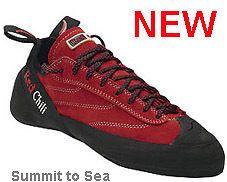 wall climbing shoes