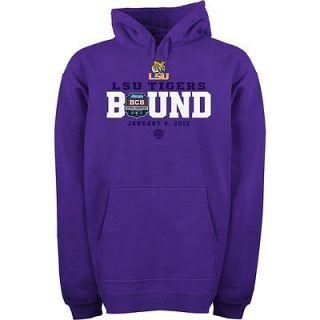 NEW adidas LSU Tigers Mens BCS National Championship Bowl Bound