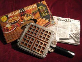 nordic ware waffle maker