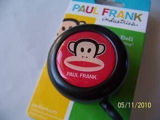 BICYCLE BELL PAUL FRANK JULIUS BLACK BIKE BELL
