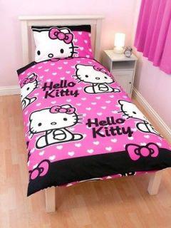 hello kitty bedroom set