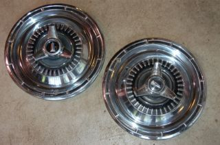 1965 Plymouth Belvedere Satellite 14 spinner type HUBCAPS