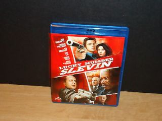 Lucky # Slevin (Blu ray Disc, 2008, Canadian) Bruce Willis, Morgan
