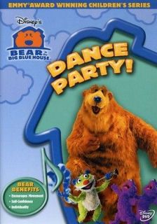 Bear in the Big Blue House Dance Party [DVD New]