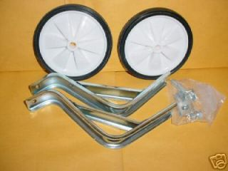 BICYCLE TRAINING WHEELS FOR 16 IN WHEEL BIKES SMALL NEW