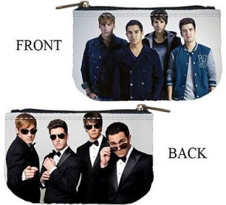 Big Time Rush Photo Coin Purse Bag 2 Sides Case