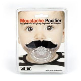 Newly listed Moustache Pacifier Novelty Baby Dummy Fun Toy Funny Baby