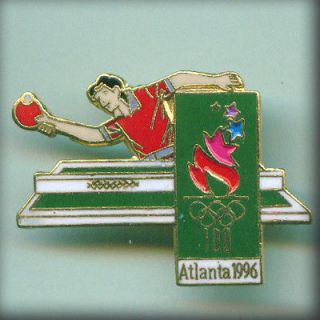 Ping Pong pin USA Tabke Tennis Olympic team Atlanta96 Olympic Games
