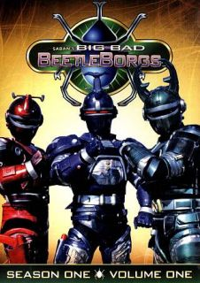 Big Bad Beetleborgs Season One, Volume One DVD