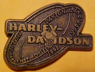 Beach Bike Week Harley Davidson motorcycle Hat Pin/Tie Tac/Lapel