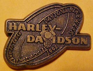 Beach Bike Week Harley Davidson motorcycle Hat Pin/Tie Tac/Lapel