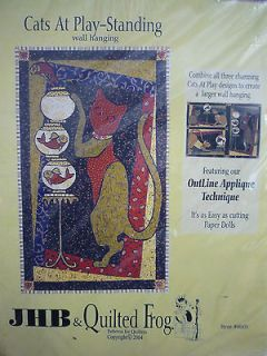 SALE Quilted Wall Hanging Cat Kit