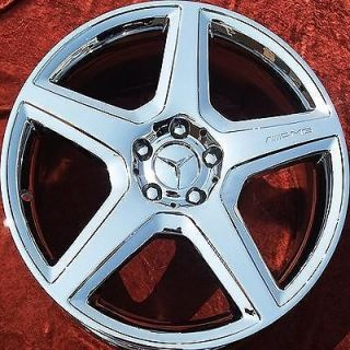 SET OF 4 19 MERCEDES BENZ CLS55 CLS63 AMG CHROME OEM WHEELS RIMS