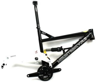 CYCLE ZEN II Sm Mountain Bike Frame Single Pivot Suspension Alloy NEW