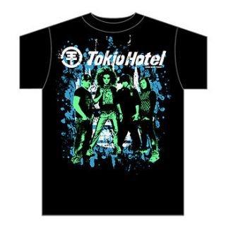 TOKIO HOTEL City T Shirt **NEW music concert band