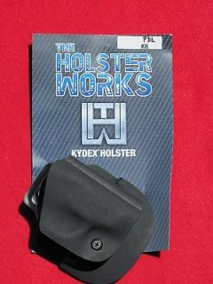 SW 380 BodyGuard LEFT CCW Kydex Paddle Holster Made In USA