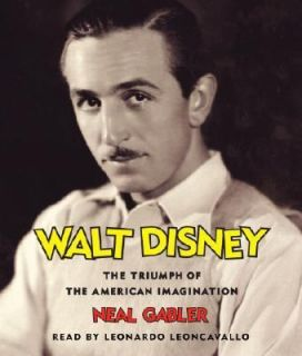 BOOK/AUDIOBOOK CD Neal Gabler Biography History Unabridged WALT DISNEY