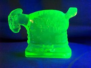 Newly listed VASELINE URANIUM GLASS SPARK PLUG BARNEY GOOGLES HORSE