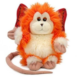 NEW Disney Michael Jackson Captain EO Orange 9 Fuzzball Plush Doll