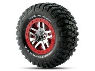 Traxxas 6873A BF Goodrich Mud Terrain Tire & Wheel Package Slash 4x4