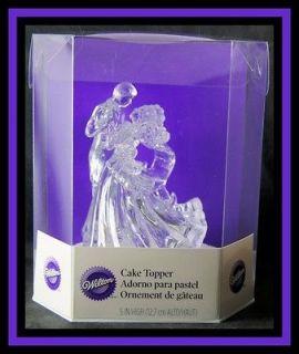 NEW! Wilton ***BIANCA   Clear Acrylic Figurine*** Cake Topper! NIP