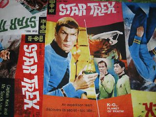 Cool STAR TREK Handmade Cotton Pillowcase Standard/Queen