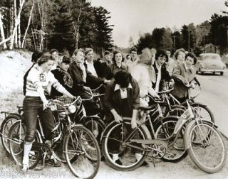Vintage 1950s Bicycles NMU College Girls Huffy Schwinn
