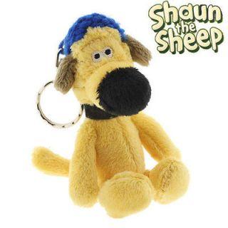 Aardman Shaun the Sheep Plush toy doll Key Charm Stuffed (Bitzer)