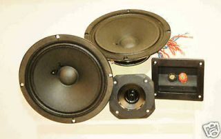 Ohm Center Channel Speaker Kit Cerwin Vega Components