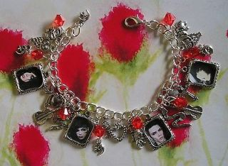 ANDY SIXX BIERSACK BLACK VEIL BRIDES Inspired Handmade Themed Charm