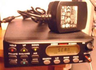 Uniden BC350A NASCAR POLICE SCANNER + wire antenna but NO mods