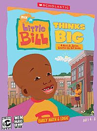 Nick Jr. Little Bill Thinks Big (PC/Mac 2003) New!