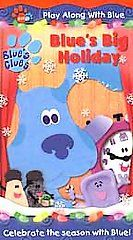 Blues Clues   Blues Big Holiday (VHS, 2001)