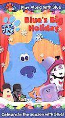 Blues Clues   Blues Big Holiday (VHS, 2001)