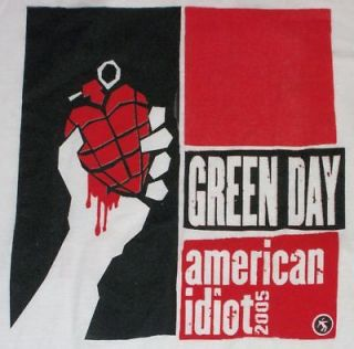 Day American Idiot Tour T Shirt Brand NEW Billie Joe Holiday St Jimmy