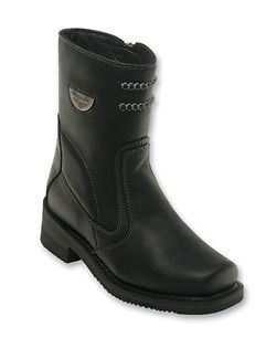 Milwaukee Shifter Womens Biker Motorcycle Riding Boots